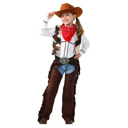 cowgirl costume with chaps