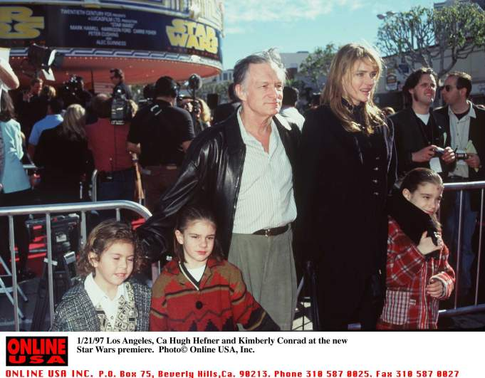 kimberley conrad, hugh hefner wife, hugh hefner children