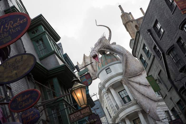 19 years later, back to hogwarts, harry potter universal diagon alley