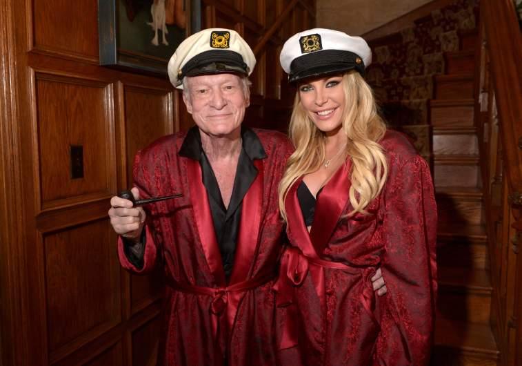 Hugh Hefner, Crystal Hefner, Playboy