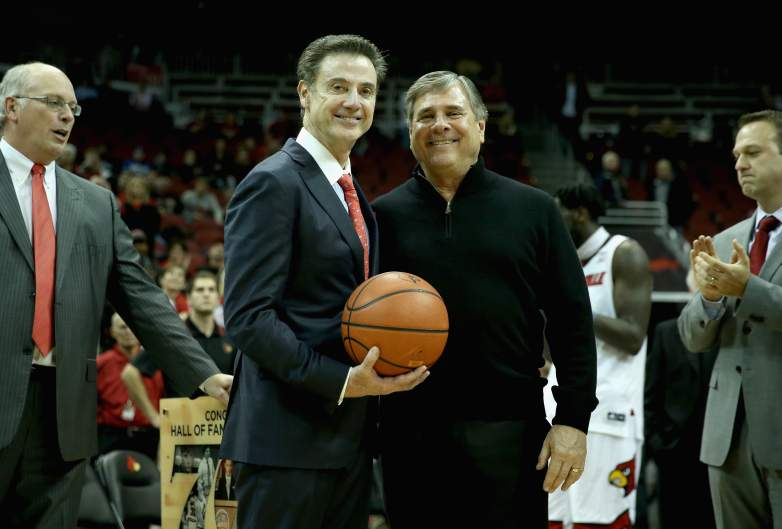 Tom Jurich & Rick Pitino