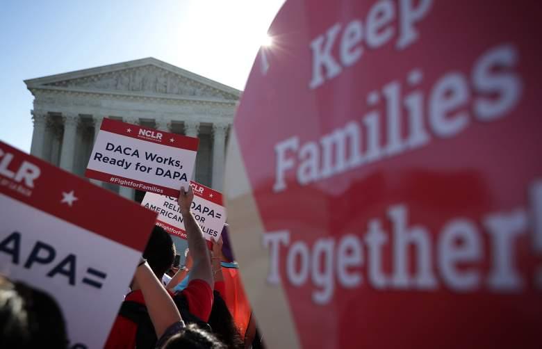 DACA protest supreme court