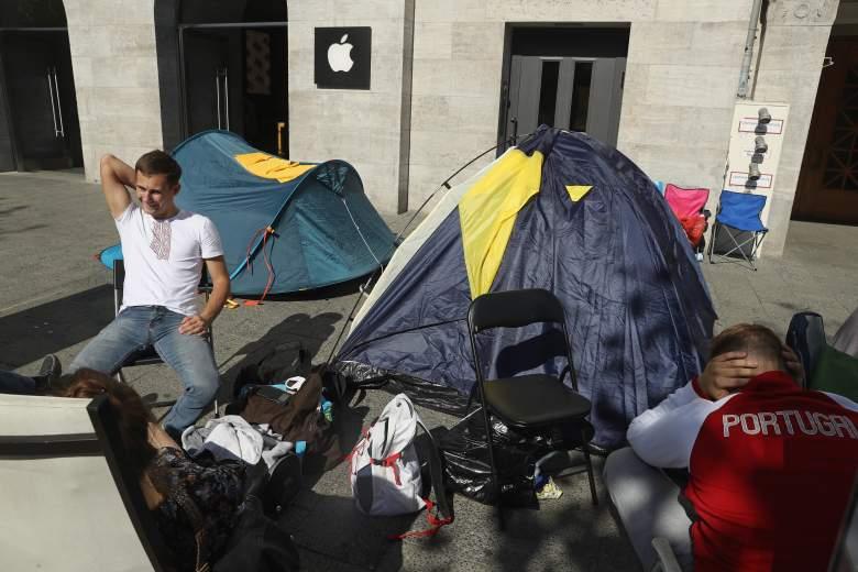apple iphone 7 launch camp fans
