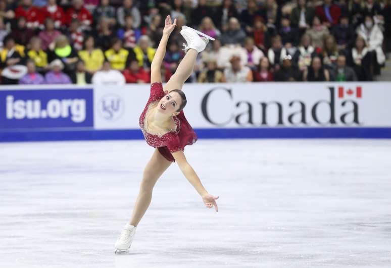 Skate Canada, Kaetlyn Osmond, Kaetlyn Osmond figure skating