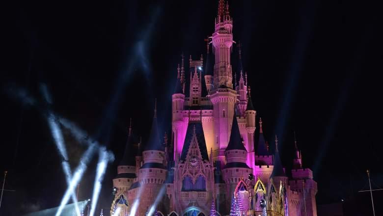 Disney World Hurricane Irma, Disney World Cinderella Castle, Cinderella Castle Hurricane