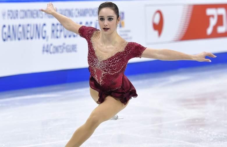 ISU Four Continents, Kaetlyn Osmond, Kaetlyn Osmond figure skating