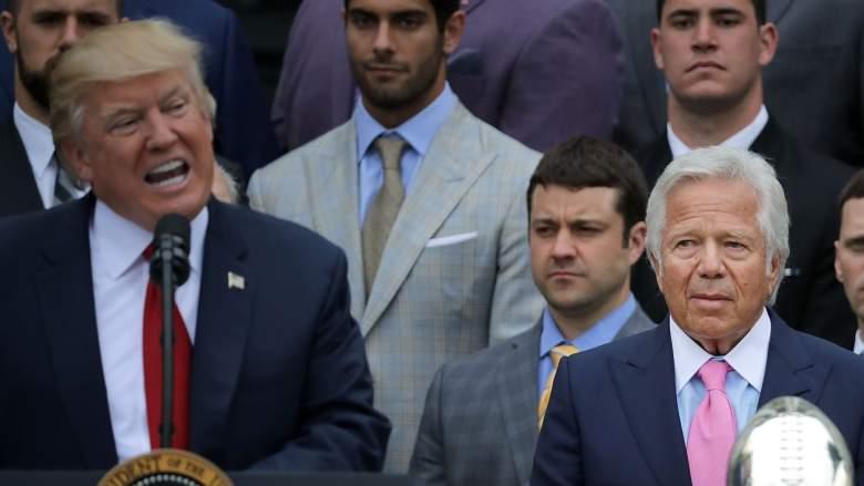 NFL Owners Trump statements, Robert Kraft Trump, Donald Trump NFL