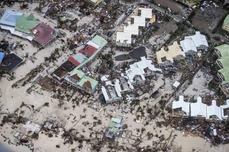 hurricane irma damage caribbean
