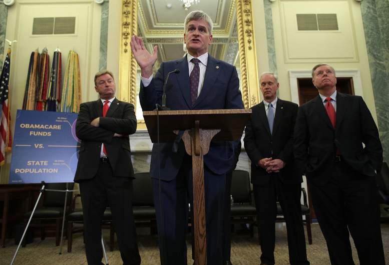 bill cassidy, lindsay graham, aca, obamacare
