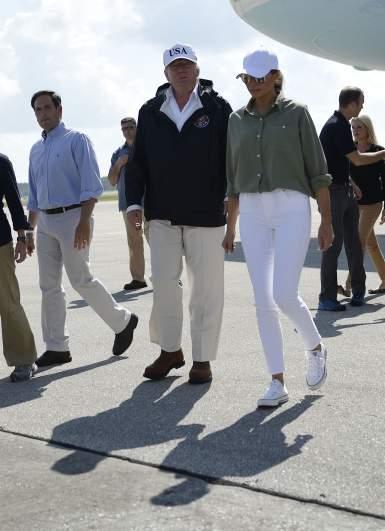 Melania Trump Florida photos