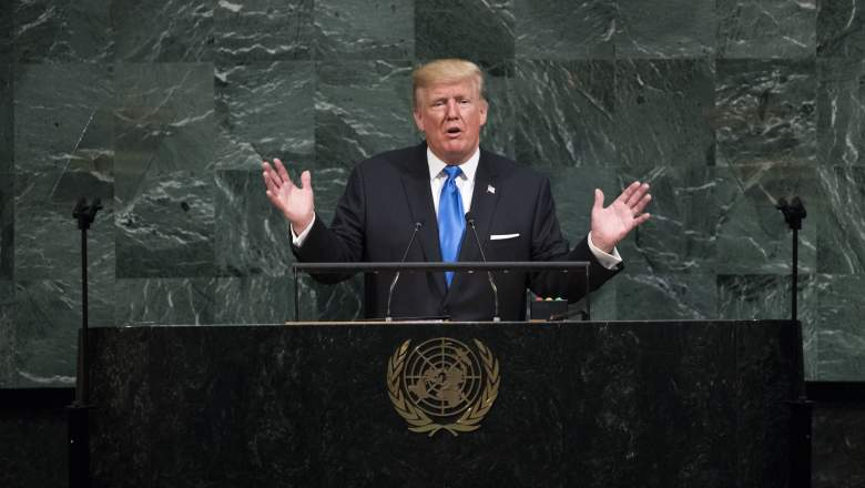 Donald Trump UN speech, Donald Trump UN, Donald Trump UN video