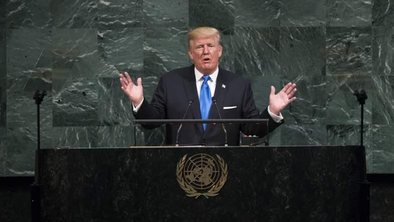 Donald Trump UN speech, Donald Trump UN, Donald Trump UN video