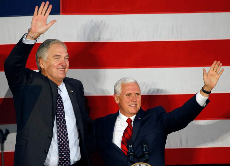 Mike Pence, Luther Strange