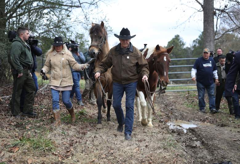 roy moore, kayla moore horse