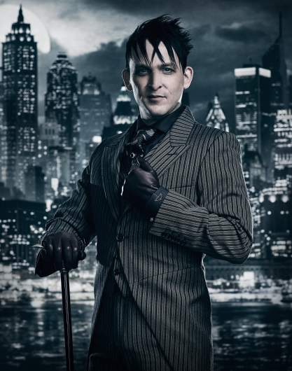 Robin Lord Taylor Gotham, Penguin actor, Gotham characters