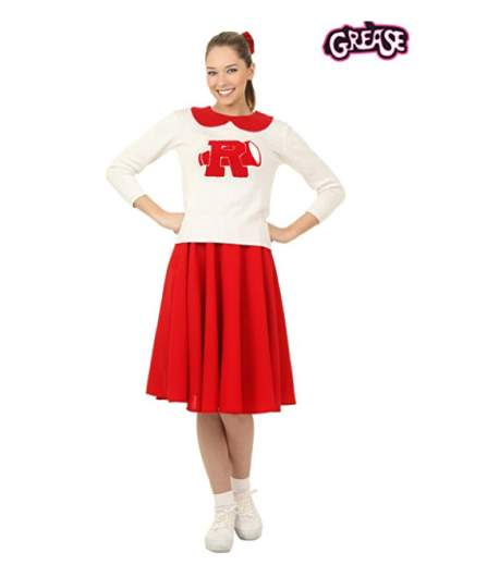 cheerleader costume, grease costume