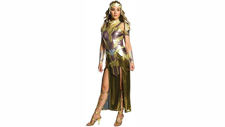 rubie's deluxe wonder woman hippolyta costume, wonder woman costume, wonder woman cosplay, wonder woman costume kids
