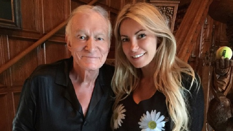 Crystal Harris, Crystal Harris And Hugh Hefner, Hugh Hefner, Hugh Hefner Wife, Who Is Hugh Hefner Married To