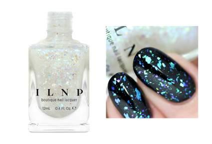 Image of iridescent flakie nail polish