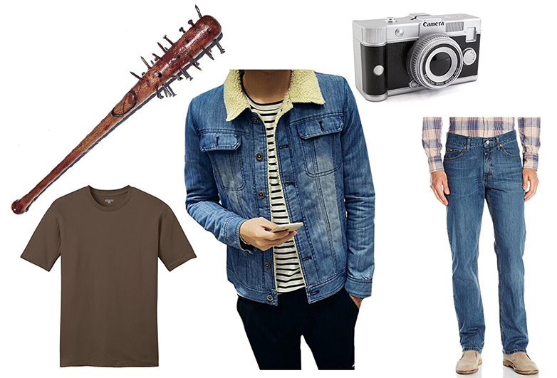 Items for a Jonathan Byers Halloween costume