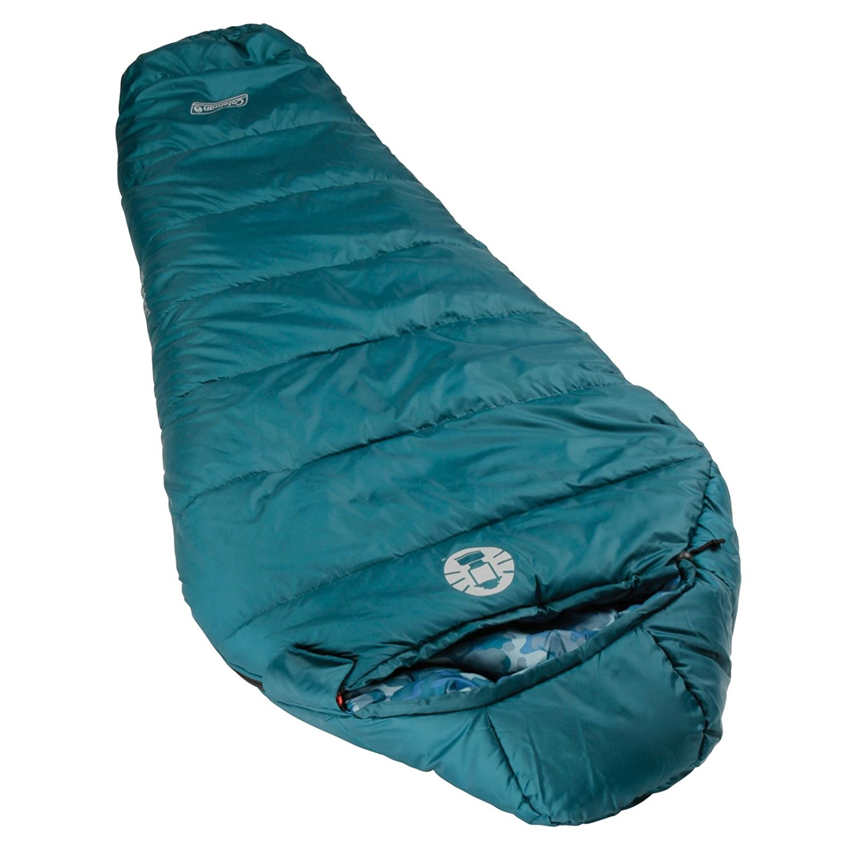 coleman, sleeping bag, winter camping, kids sleeping bag,