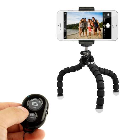 Kobratech mini cell phone tripod, best iphone x accessories, best iphone x accessories, best accessories for x