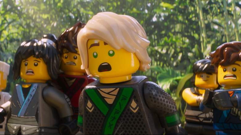 The LEGO Ningjago Movie end credits, The lego ninjago movie end credits scene, the lego ninjago movie post credits scene