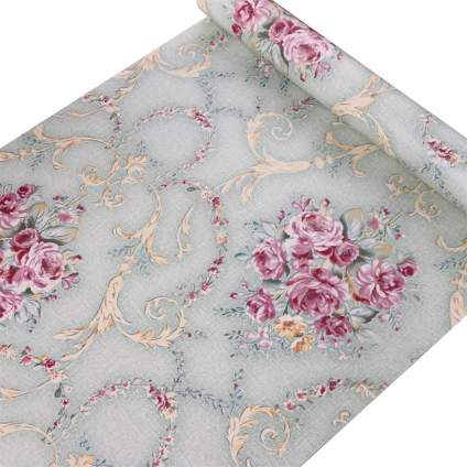 lifavovy vintage rose peel and stick wallpaper