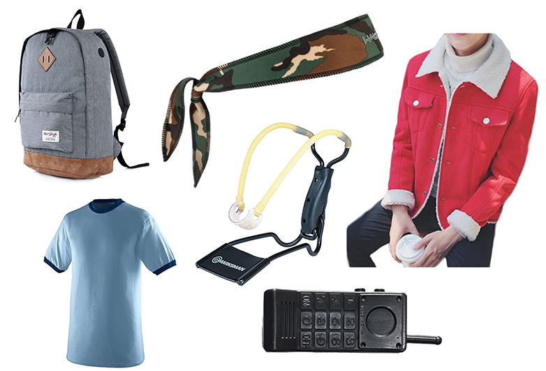 Items for a Lucas from stranger things costume