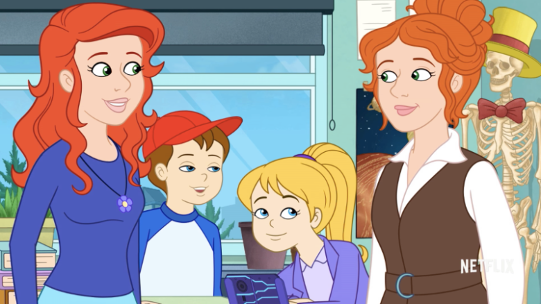 magic school bus rides again, magic school bus remake, magic school bus netflix
