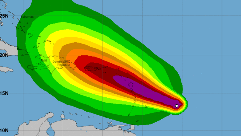 Hurricane Maria wind, Hurricane Maria forecast, Hurricane Maria