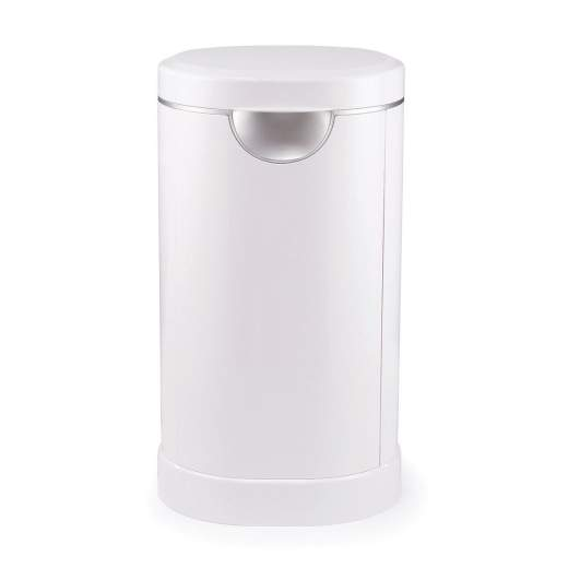 Munchkin Diaper PAIL Powered by Arm & Hammer, best diaper pail, diaper pail, best diaper pail for nursery, arm and hammer diaper pail, plastic diaper pail