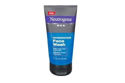 Neutrogena face wash for men