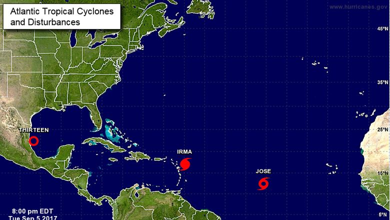 Hurricane Irma latest GFS