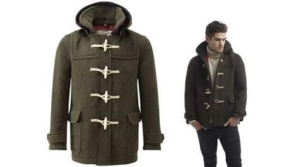 duffel coat for men, duffle coat for men, mens duffle coat, mens toggle coat, original montgomery