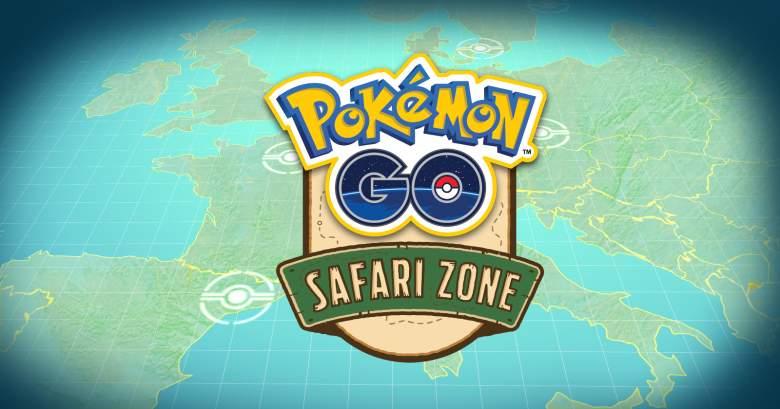 pokemon go safari zone, pokemon go safari zone event, pokemon go safari zone update