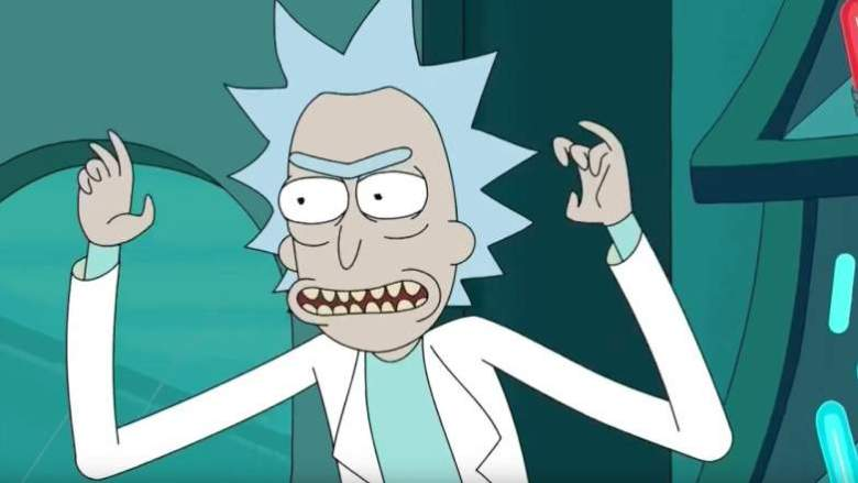 rick and morty live stream
