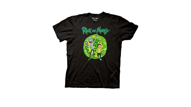 Rick and Morty portal shirt