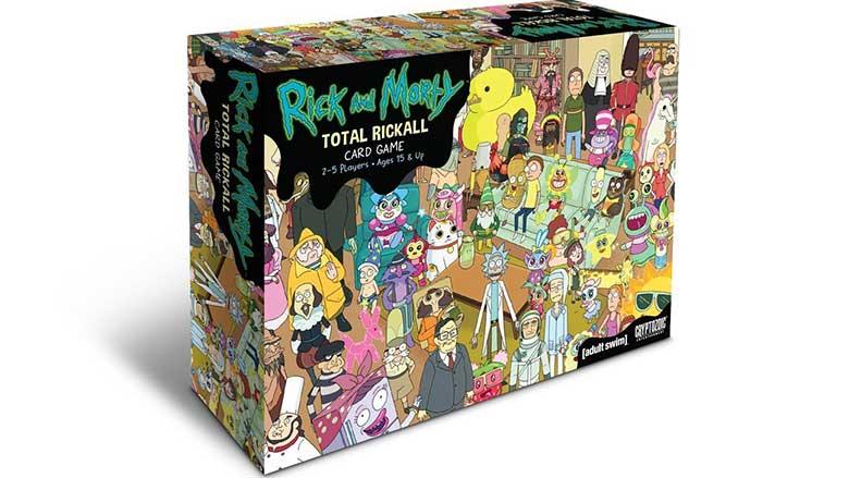 rick and morty total rickall game