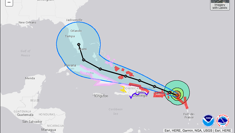 Hurricane Irma Cone of Uncertainty