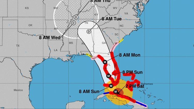 Map Of Florida Irma Hurricane Irma Maps: Latest Path & Tracks for the Storm | Heavy.com