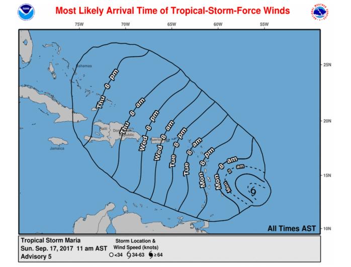 Hurricane Maria Dominican Republic