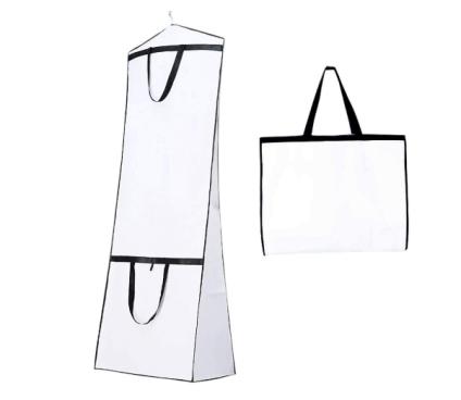 Breathable Wedding Dress Garment Bag