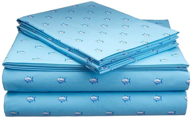 printed sheets, beach bed sheets