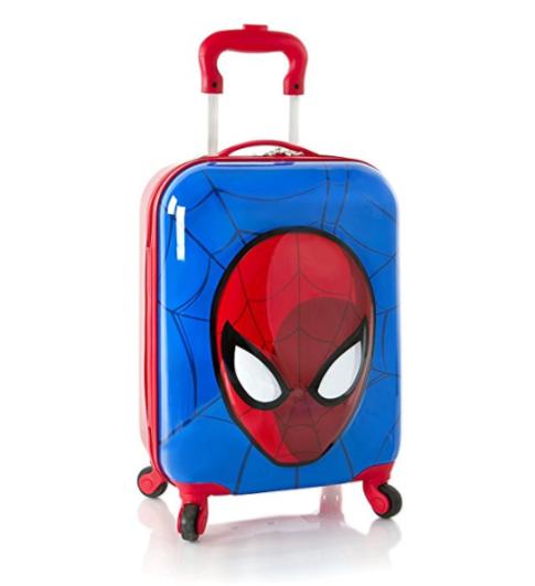 spiderman 3d spinner, best luggage kids