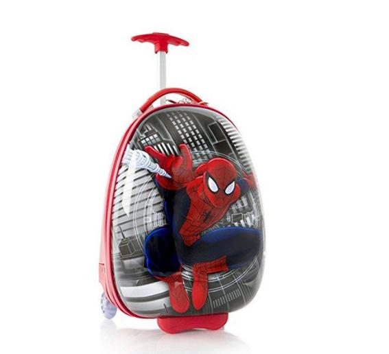 spiderman upright, best luggage kids
