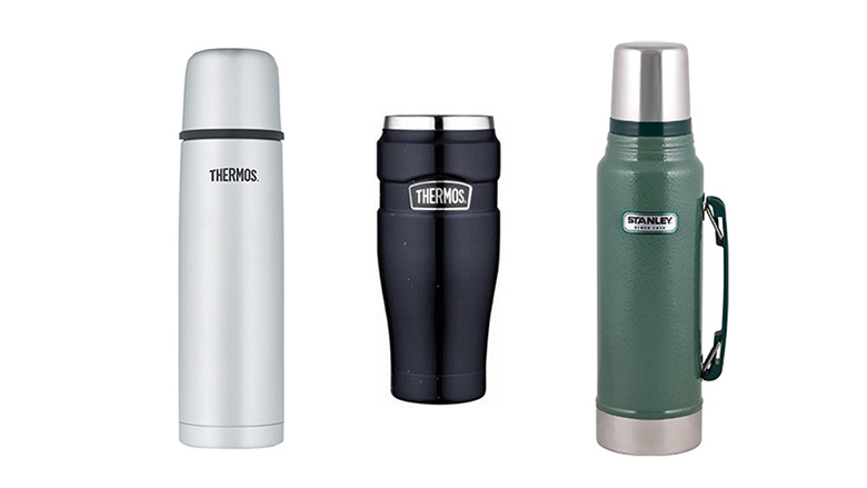 HOT COLD THERMOS STAINLESS STEEL FLASK OUTDOOR TRAVEL DRINK CAMPING HOME NEW