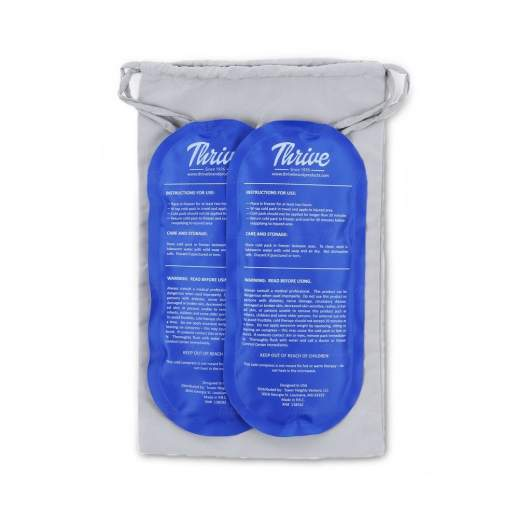 thrive gel ice cold compress, best perineal ice packs, perineal ice packs, cold packs, ice packs, postpartum ice packs