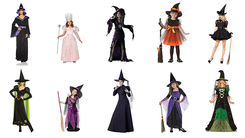 Top 10 Best Witch Costumes For Halloween 2017 Heavy Com