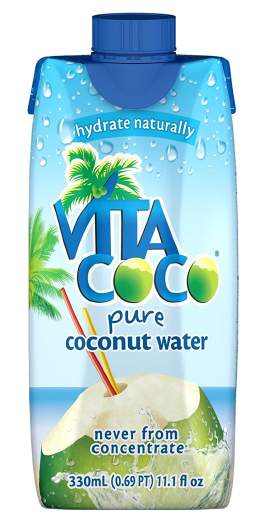 Vita Coco Coconut Water (Set of 12), coconut water, best coconut water, best drink for labor, hospital bag, must-have items for hospital bag, labor bag, best drink for hospital bag
